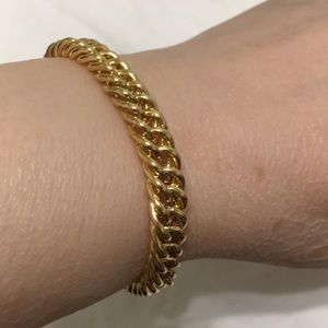 Jewelry - TOGGLE COIN BRACELET NWOT NEVER WORN